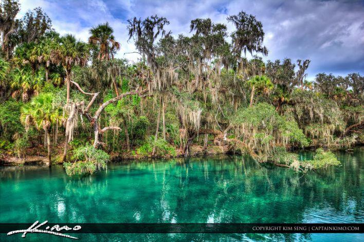 Blue Springs State Park Orange City en Floride.