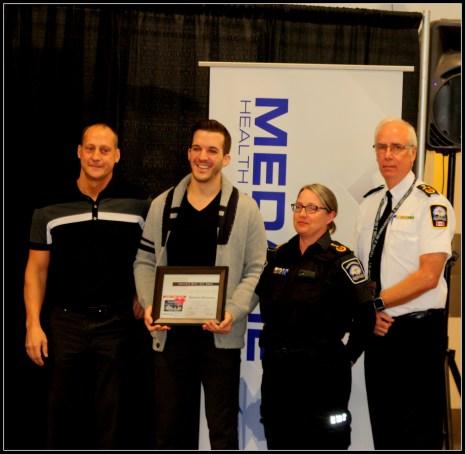 De gauche à droite : Michael Isley (survivant), Brandon Blondeau et Donnita Derbyshire, PSA