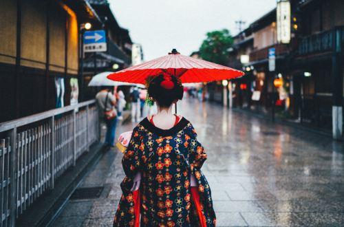 Geisha Kyoto Japon