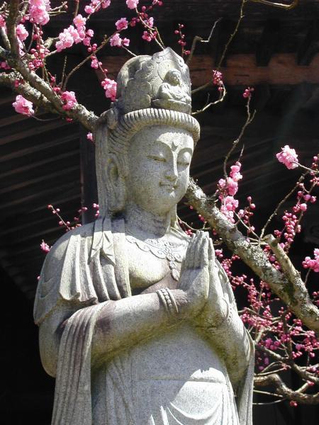 Statue du Bodhisattva Kannon, Japon