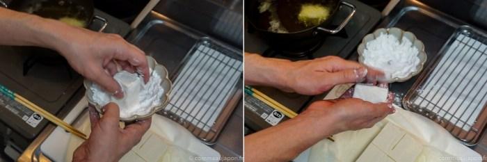 recette tofu frit japonais végan végétarien