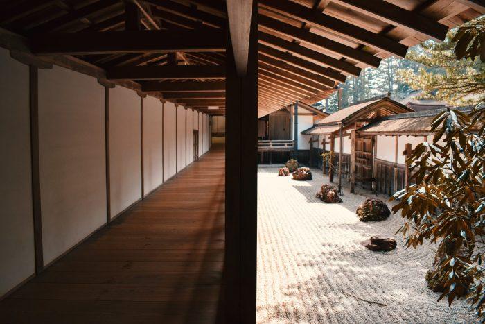 dormir dans un temple mont koya japon