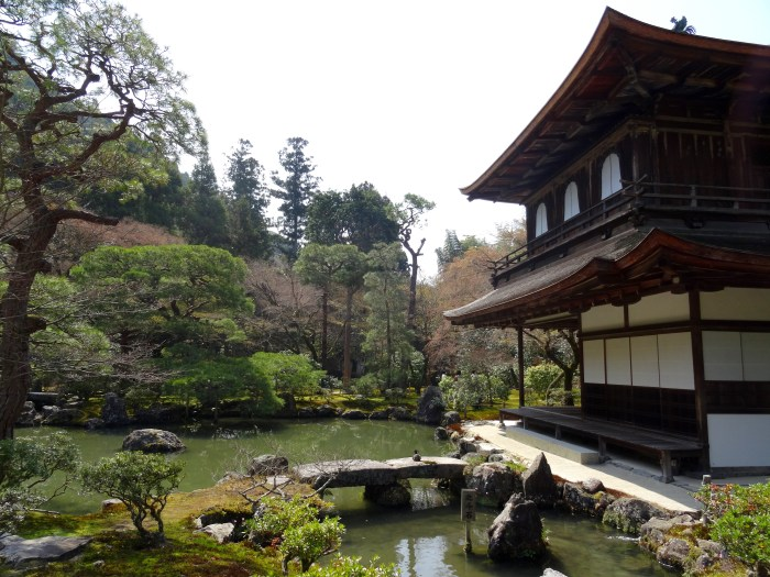 temple connu kyoto pavillion d'argent