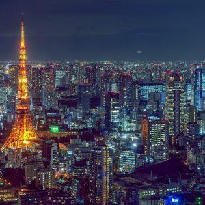 tokyo tower travail au japon