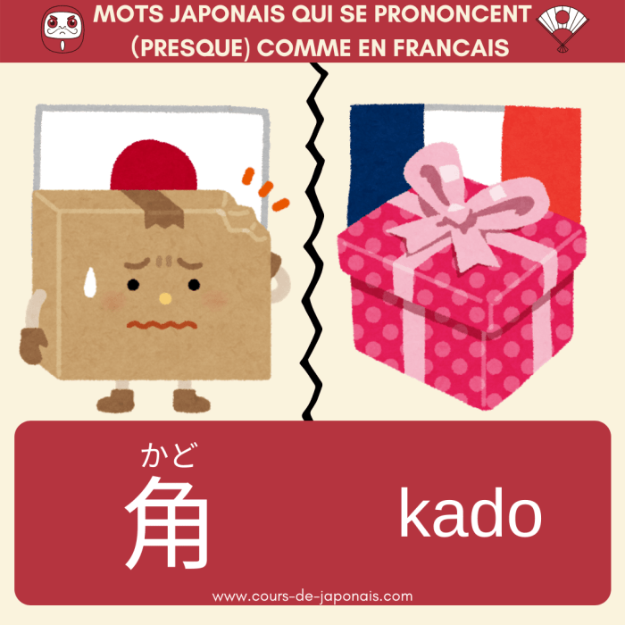 角 (かど, kado)