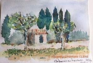 Christiane CLENE Petit cabanon (Visioateliers)