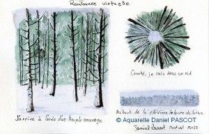 Daniel PASCOT Randonnée hivernale (Visioateliers)