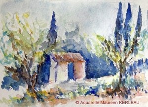 Maureen KERLEAU Petit cabanon (Visioateliers)