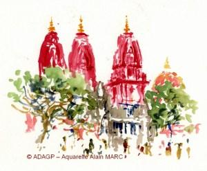 Les temples rouges New Delhi - Alain MARC -