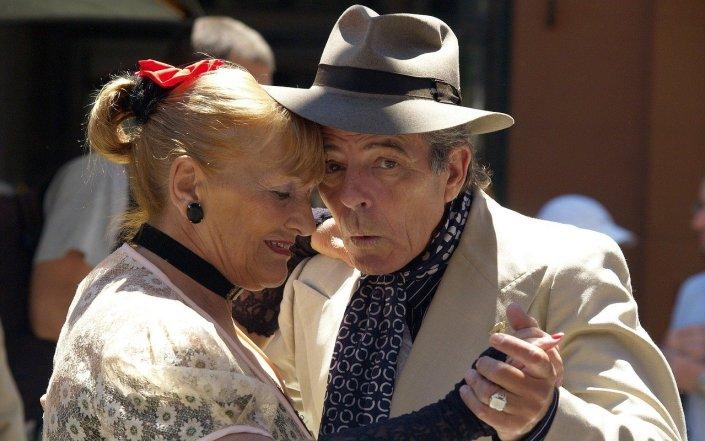Danse personne âgée