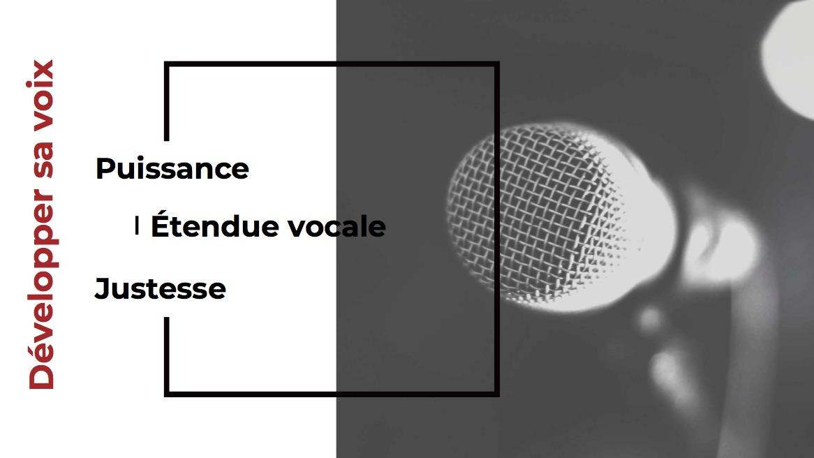 Développer sa voix