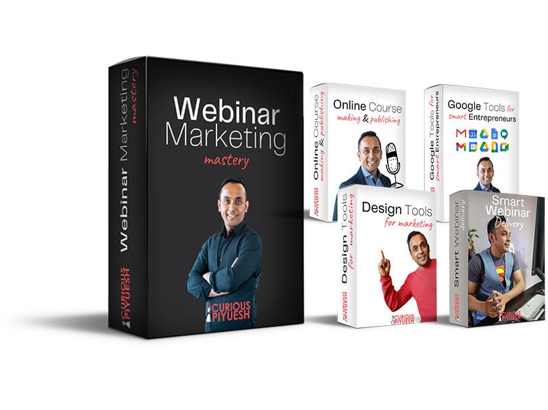 webinar marketing mastery course