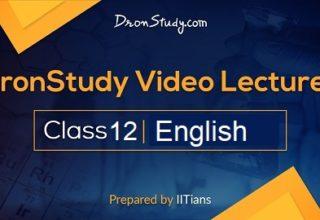 Class 12 English