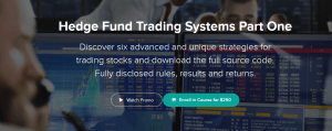 Marwood Research - Hedge Fund Trading Systems Part One