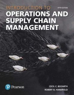 Introduction to Operations and Supply Chain Management 5th Edition