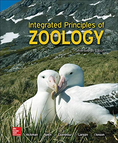 Integrated Principles of Zoology 17th Edition