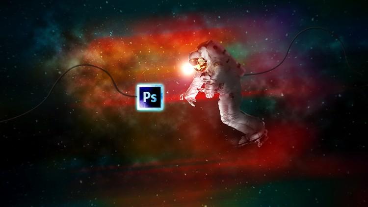 Space Explorer Photo Composite Photo Manipulation Photoshop