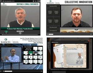 Food for thought webinar, Babson