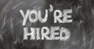 you're hired image - resume review