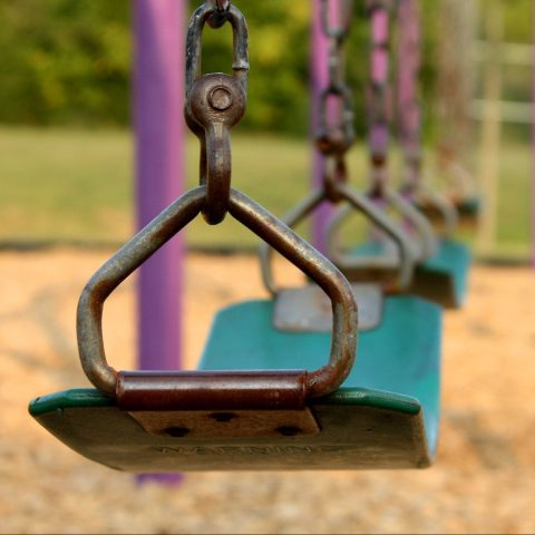 Empty Swing Set