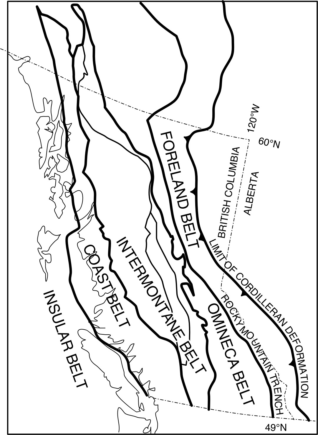 Fold And Thrust Belt Slides J Waldron And Others
