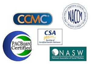 patient advocate certifications logos