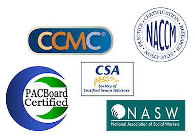 patient advocate certifications logos