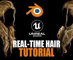 Artstation – [Tutorial] Real-TimeGame-Ready Hair Creation