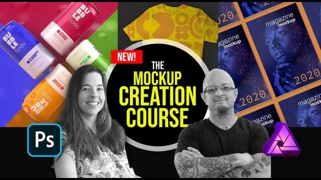 SkillShare - The Mockup Creation Course for Adobe Photoshop and Affinity Photo