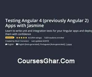 Code With Mosh - Testing Angular 4 Appas With Jasmine