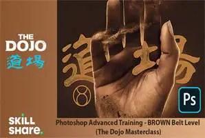 Skillshare - Photoshop Advanced Training - BROWN Belt Level (The Dojo Masterclass)