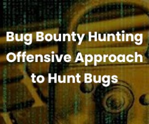 Bug Bounty Hunting Offensive Approach to Hunt Bugs, by Bikash Chowdhury