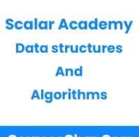 Scalar Academy – Data structures & algorithms