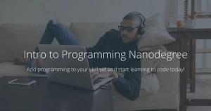 UDACITY - Intro to Programming Nanodegree v3.0.0