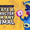 Character Design- Create a Character from any Animal
