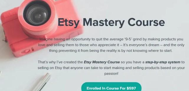 Nancy Badillo - Etsy Mastery Course