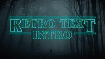 """Create a """"Stranger Things"""" Inspired Text Animation in Adobe After Effects"""