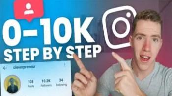 Instagram Marketing & Monetization Zero to 100,000 Followers In 2021