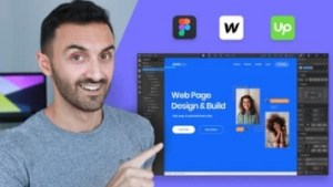 Complete Web Design from Figma to Webflow to Freelancing