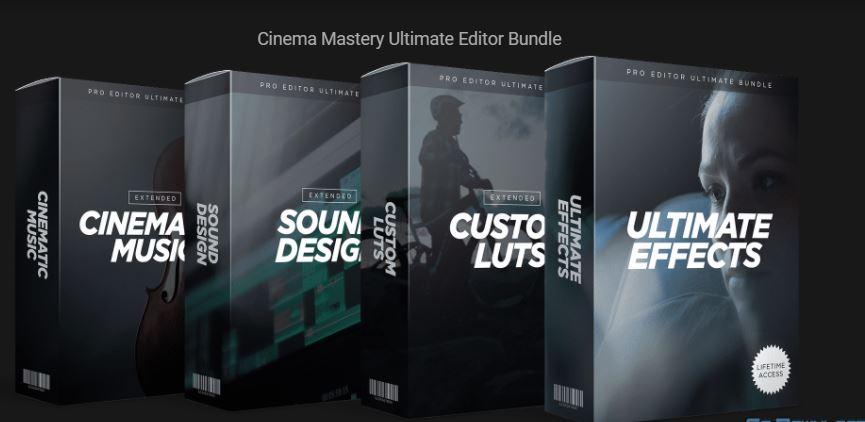 Cinema Mastery Ultimate Editor Bundle [EXCLUSIVE]