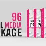 Social Media Lower Thirds Package 32560460