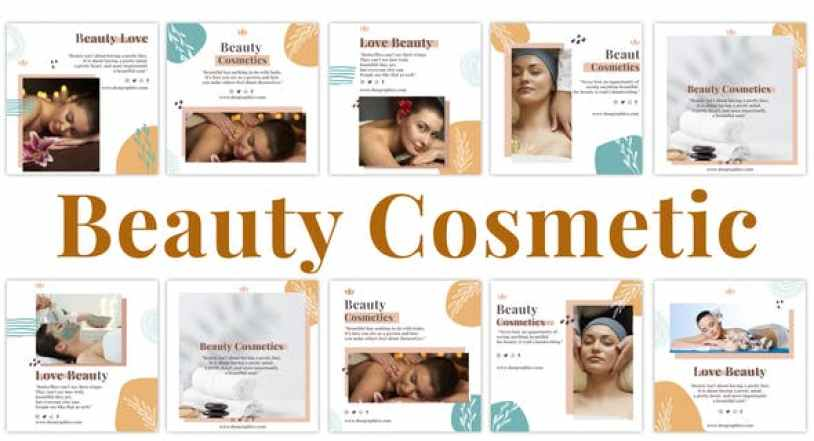 Videohive Beauty Cosmetic Instagram Post 33616114 Free Download