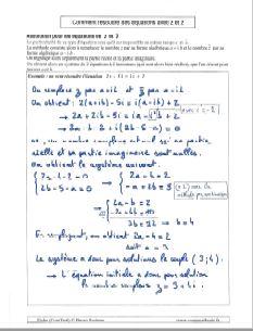 comment savoir resoudre une equation avec nombre complexe z et son conjugue z barre