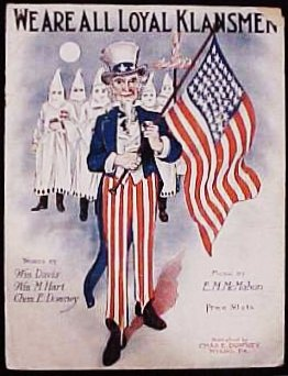 Klan-sheet-music - We are all loyal klansmen