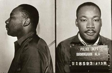 MLK Birmingham mug shot