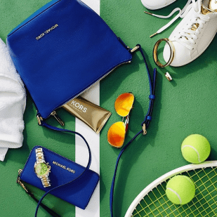 What's in your tennis bag? via @michaelkors