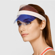 MONREAL LONDON Visor: Protects from the sun and makes Mom look chic on and off the court
