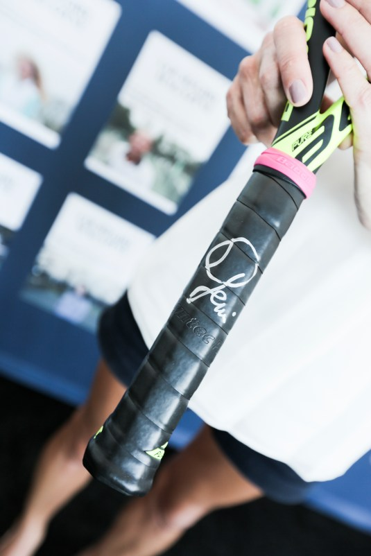 Raffle Item BABOLAT Racquet Signed by Genie Bouchard