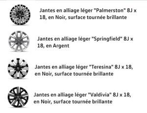 California Océan Jantes Alliages 17' Palmerston Springfield Teresina Valdivia courtierautosudouest.fr