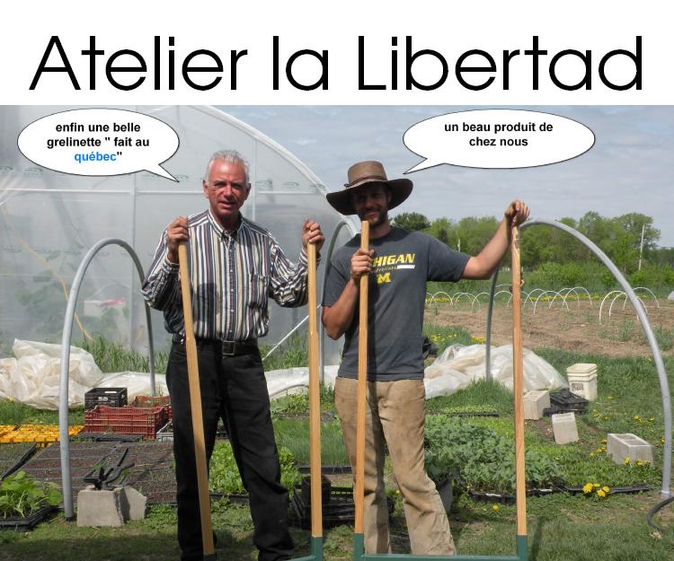 Atelier la Libertad - Fabricant d'outils de jardinage